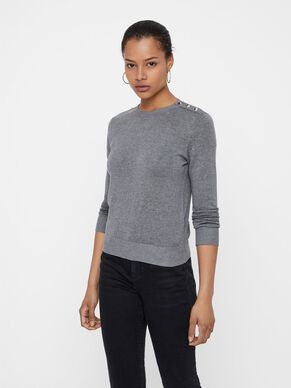 1a4fddd2d9d O-NECK KNITTED PULLOVER