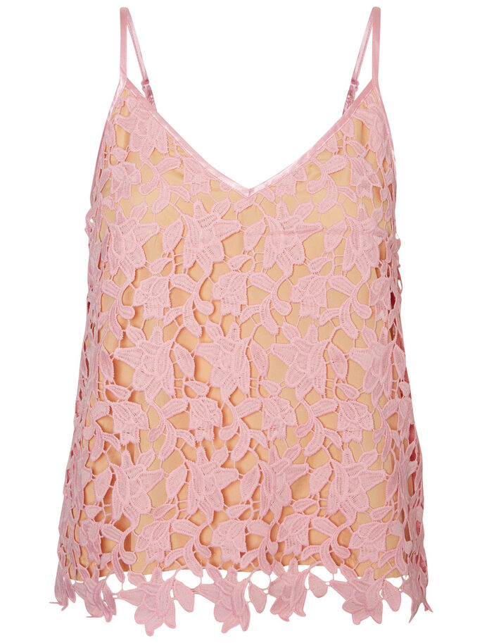 LACE SINGLET, Orchid Smoke, large