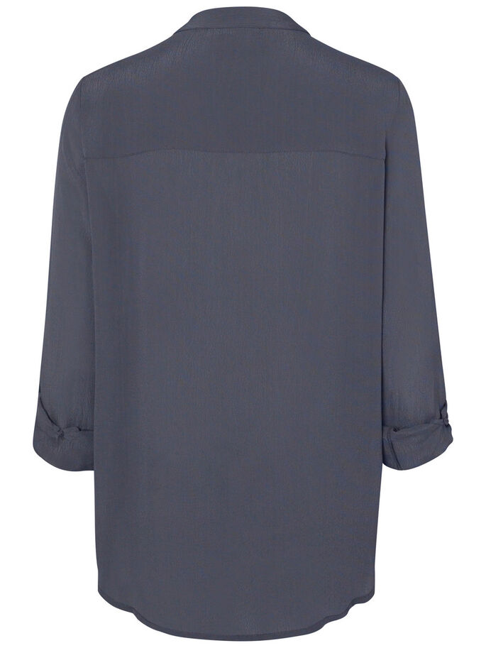 FEMININE SHIRT, Ombre Blue, large