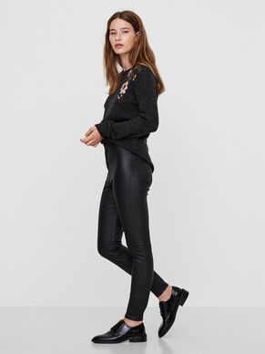 ELLA HW DELUXE COATED TROUSERS