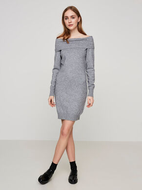 DETAILED LONG SLEEVED DRESS