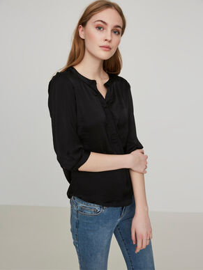 FEMININE 3/4 SLEEVED SHIRT