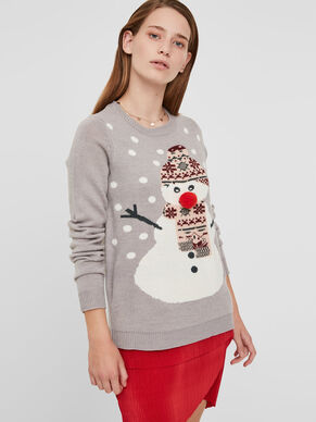 CHRISTMAS KNITTED PULLOVER