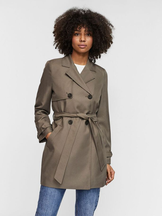 BELTED TRENCHCOAT, Bungee Cord, large