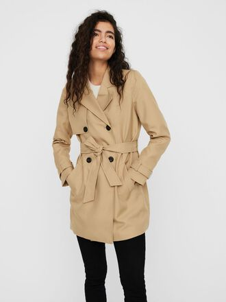 DOUBLE BREASTED TRENCHCOAT