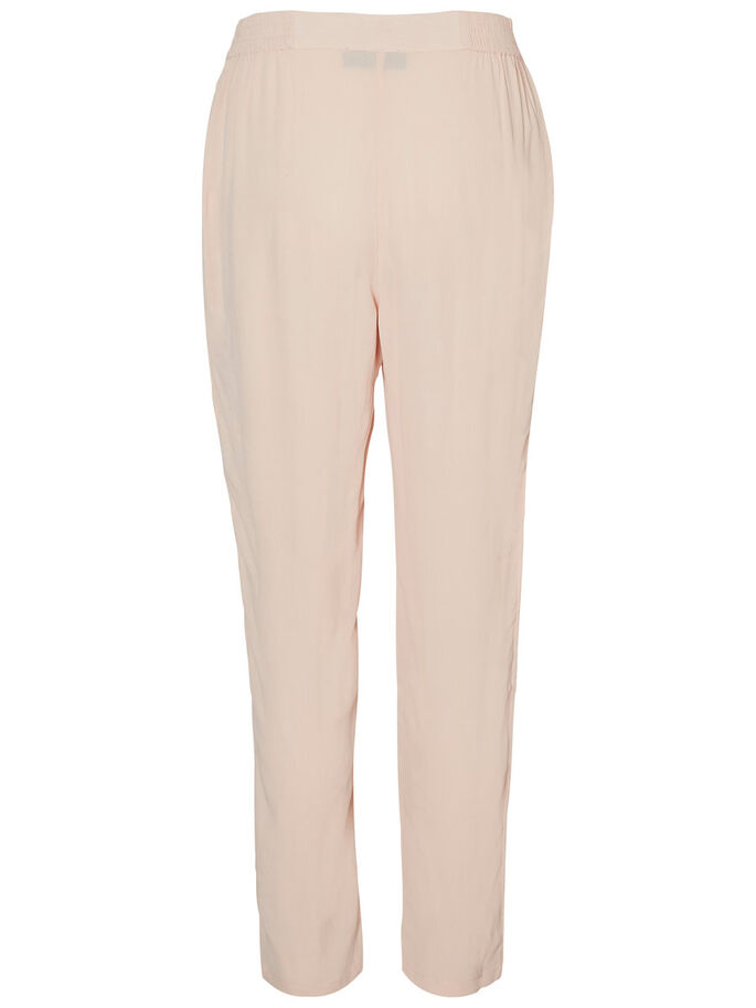 VISCOSE TROUSERS, Cameo Rose, large