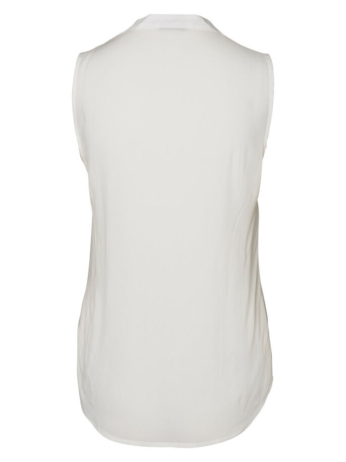 SLEEVELESS SHIRT, Snow White, large