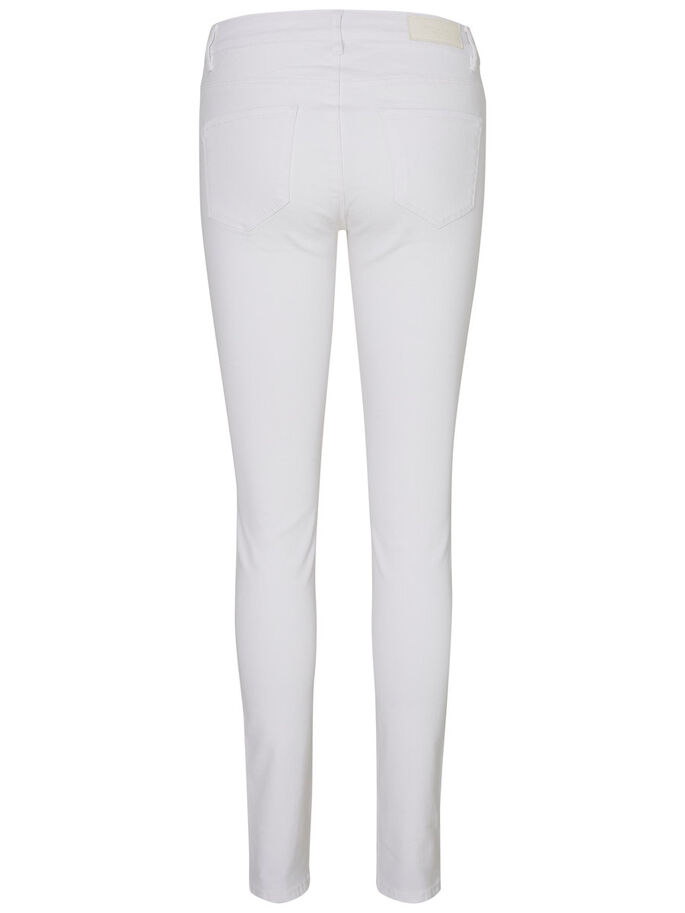 SEVEN NW SKINNY FIT JEANS, Bright White, large