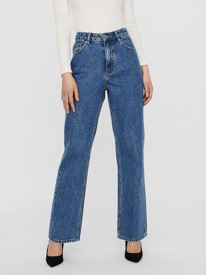 HIGH WAISTED LOOSE FIT JEANS