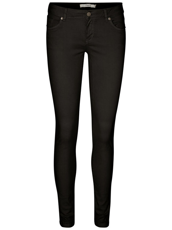 FIVE LW TROUSERS, Black, large