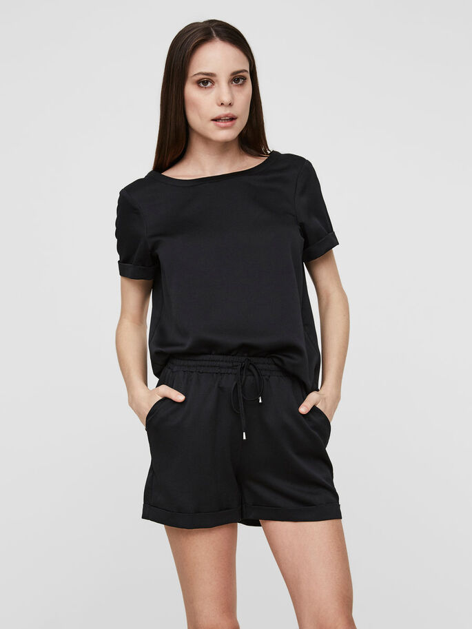 NW SHORTS, Black, large
