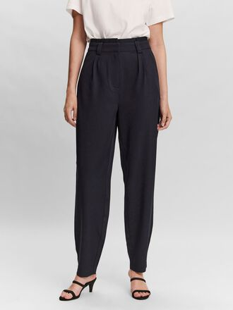 HIGH WAIST BELT TROUSERS
