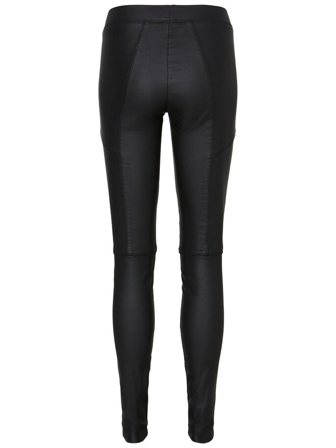 NORMAL WAIST PANTALON, Black, large