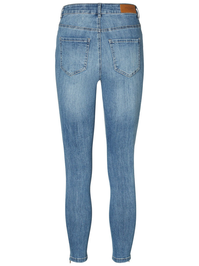 NINE HW ANKLE SKINNY FIT JEANS, Light Blue Denim, large