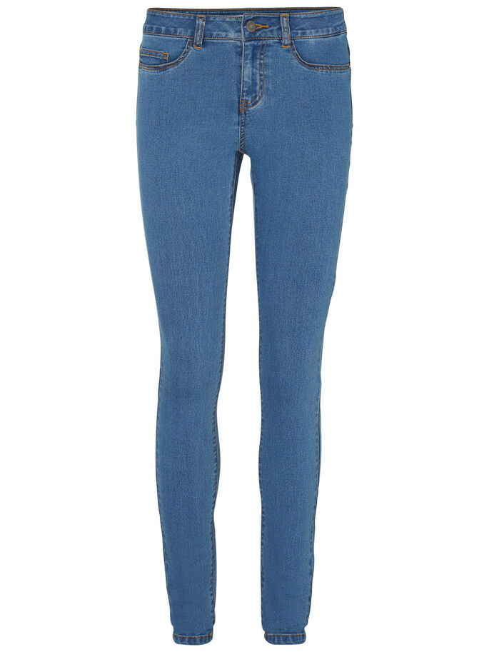 LUCY NW JEAN SKINNY, Medium Blue Denim, large
