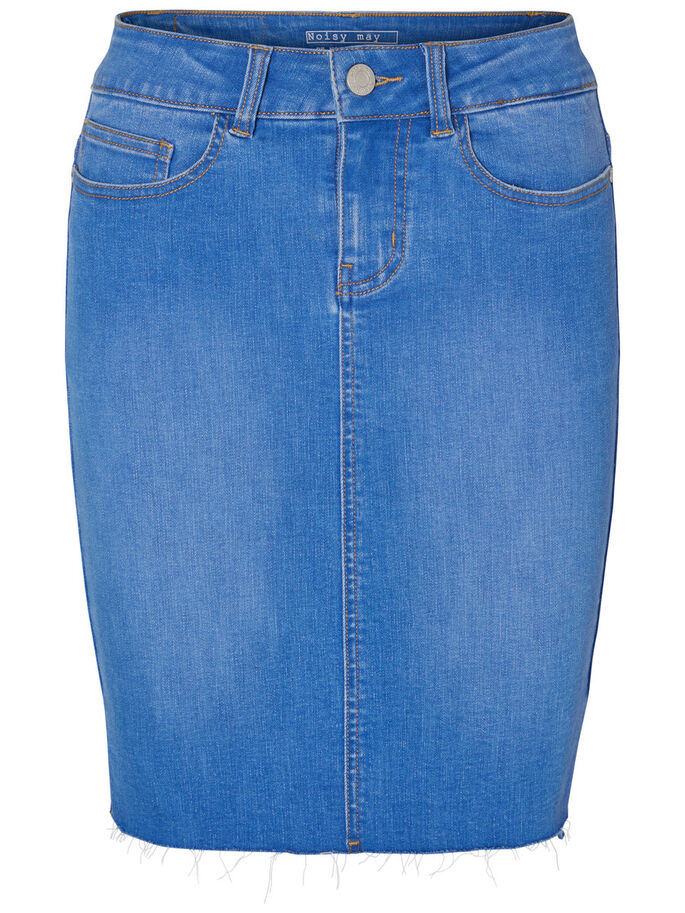 HW JUPE EN JEAN, Light Blue Denim, large
