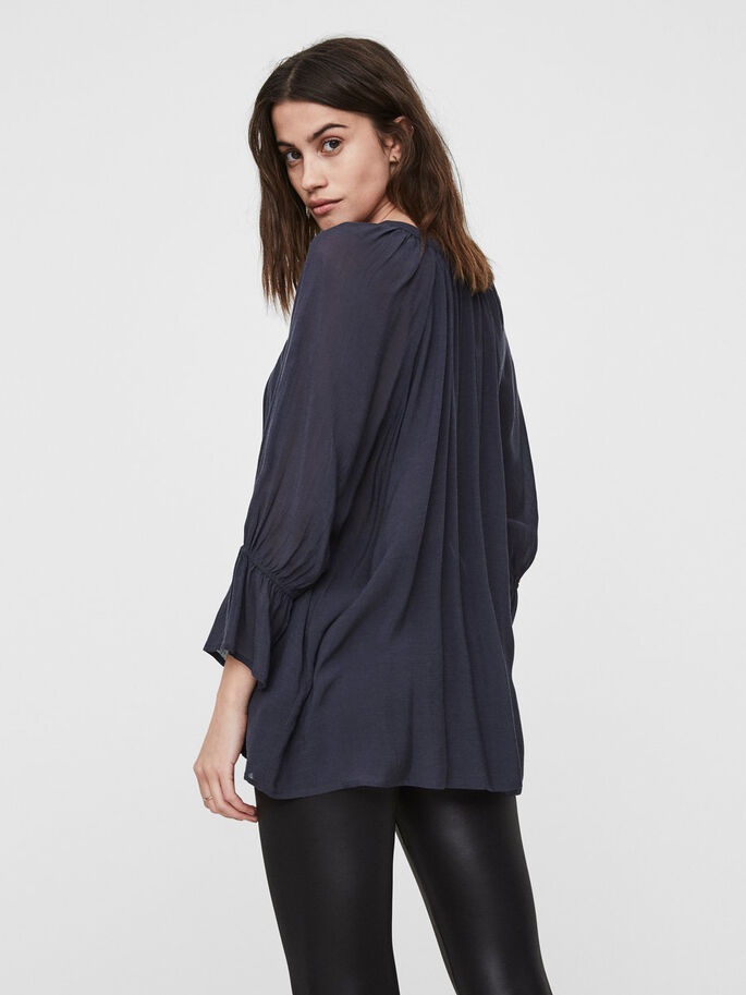 LOOSE FIT SHIRT, Ombre Blue, large