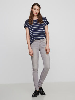 FIVE LW PUSH UP SKINNY JEANS