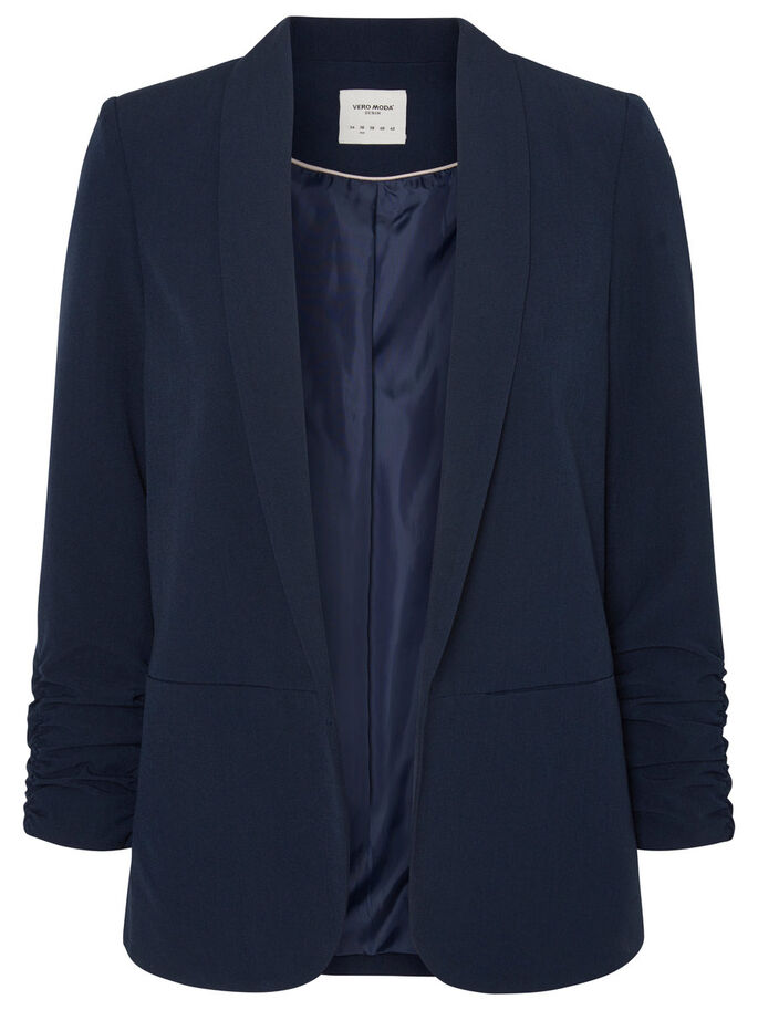 COURT BLAZER, Navy Blazer, large