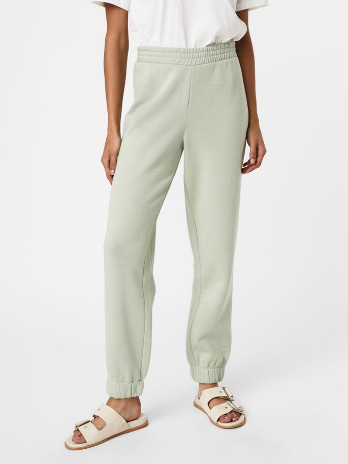 HIGH WAISTED SWEATPANTS, Desert Sage, large