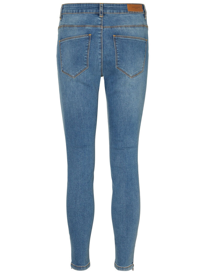 SEVEN NW ANKLE SKINNY FIT JEANS, Medium Blue Denim, large