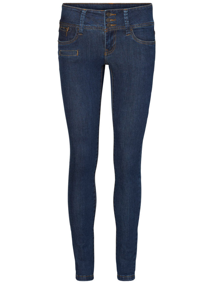 GAMER LW SKINNY FIT JEANS, Dark Blue Denim, large