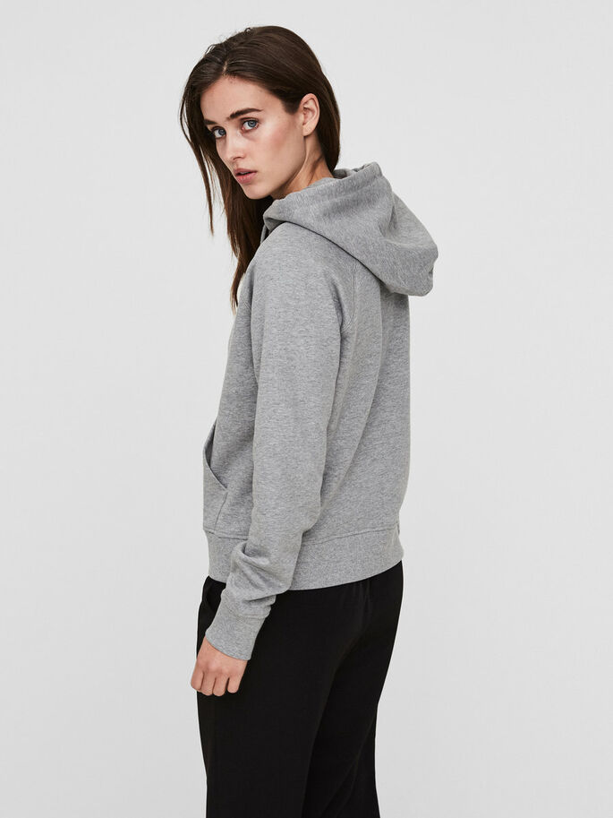 VMD- SWEATSHIRT, Light Grey Melange, large