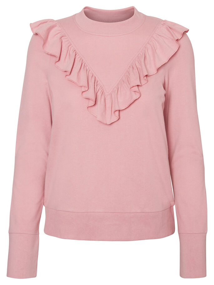 VOLANTS SWEAT-SHIRT, Orchid Smoke, large