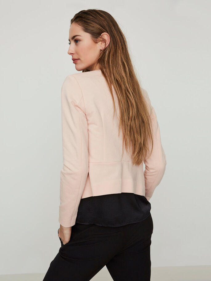 SHORT BLAZER, Cameo Rose, large