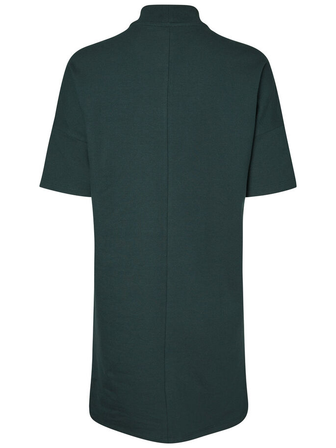 CASUAL SHORT SLEEVED DRESS, Green Gables, large