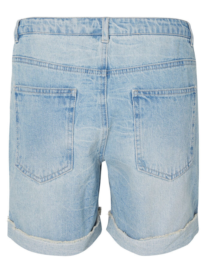 LOOSE FIT DENIM SHORTS, Light Blue Denim, large