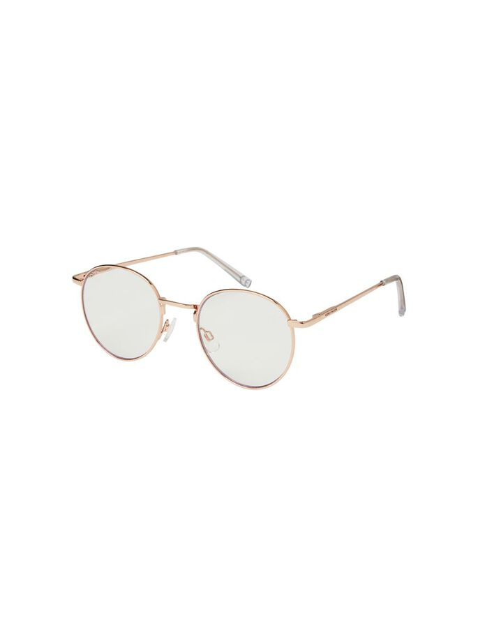 BLAULICHT BRILLE, Rose Gold Colour, large