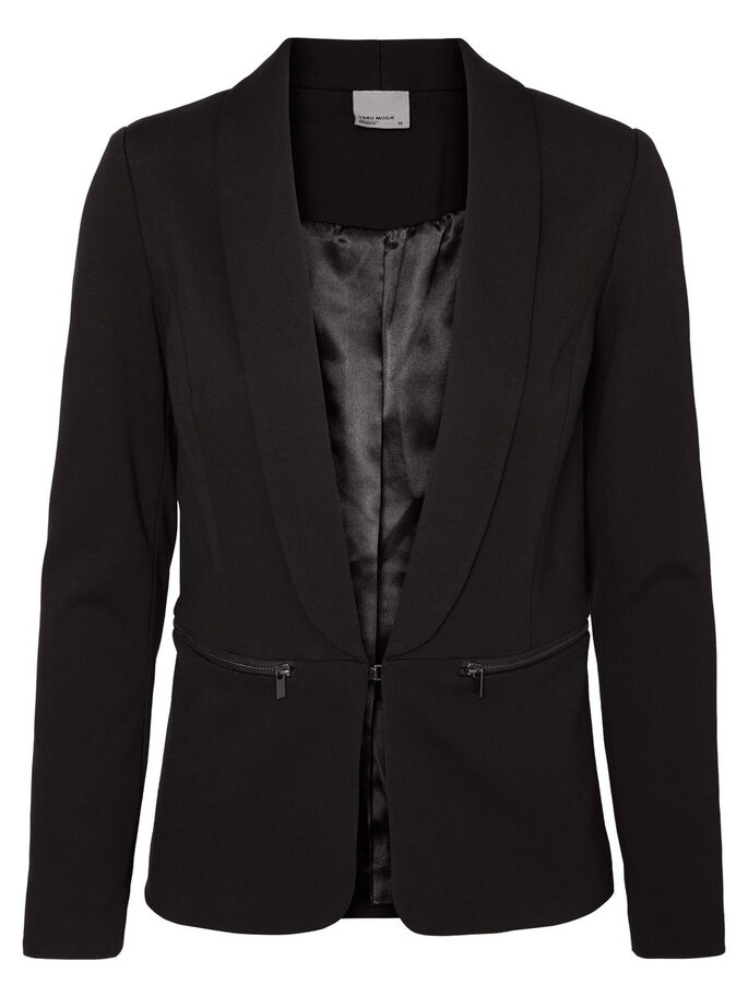COURT BLAZER, Black, large