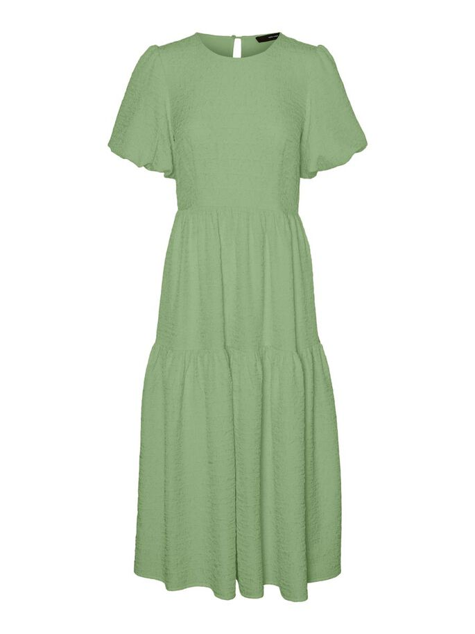 STRUCTURED MAXI DRESS, Forest Shade, large