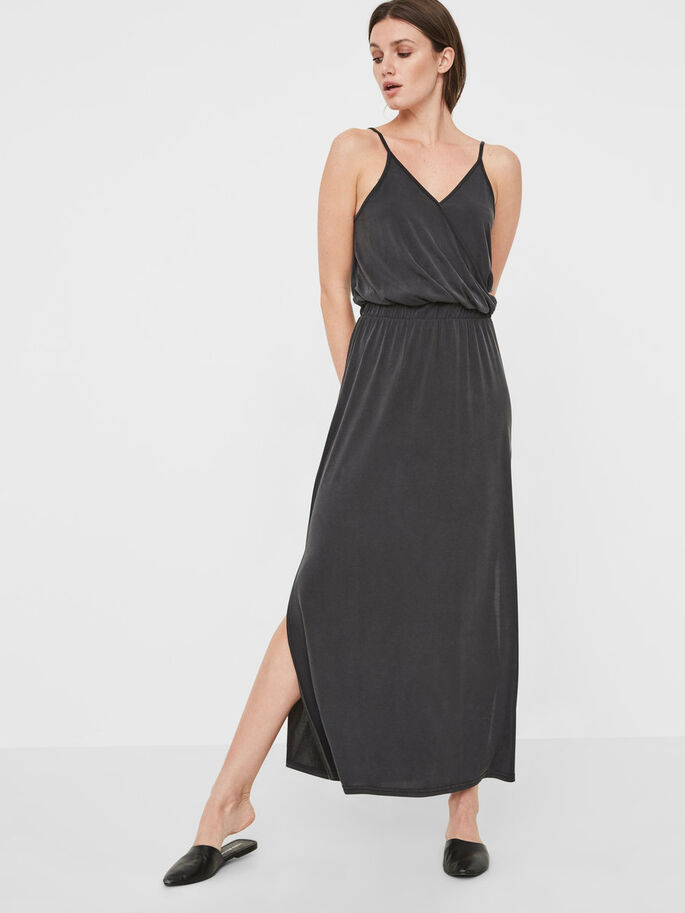 KNÖCHEL- KLEID, Black, large