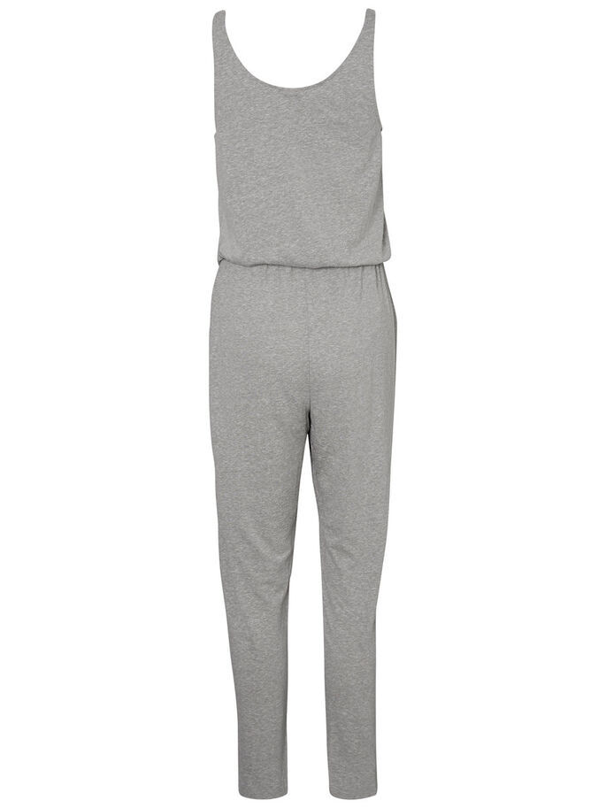 AVSLAPPNAD JUMPSUIT, Light Grey Melange, large