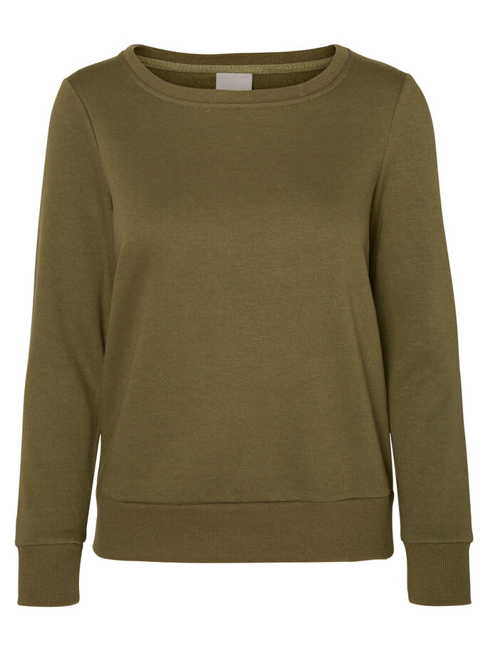 LÄSSIGES SWEATSHIRT, Ivy Green, large