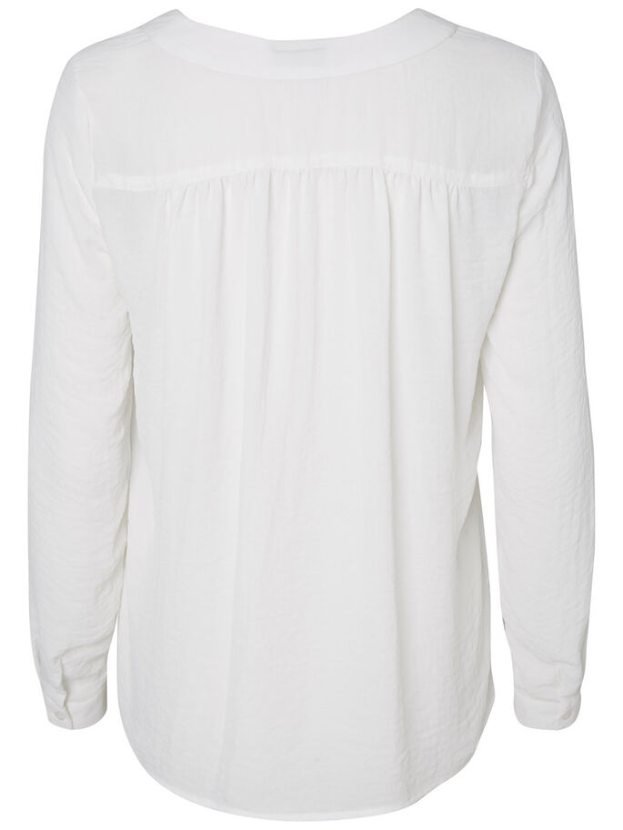MANCHES LONGUES CHEMISE, Snow White, large