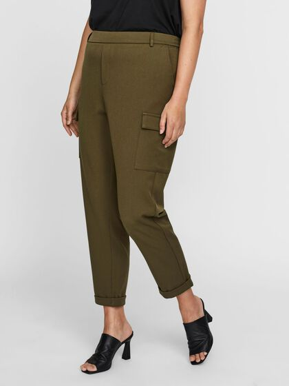 LOOSE FIT CARGO TROUSERS