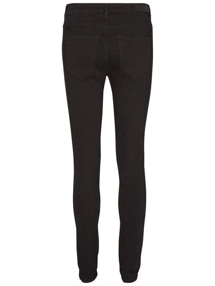 SEVEN NW SMOOTH JEGGINGS, Black, large