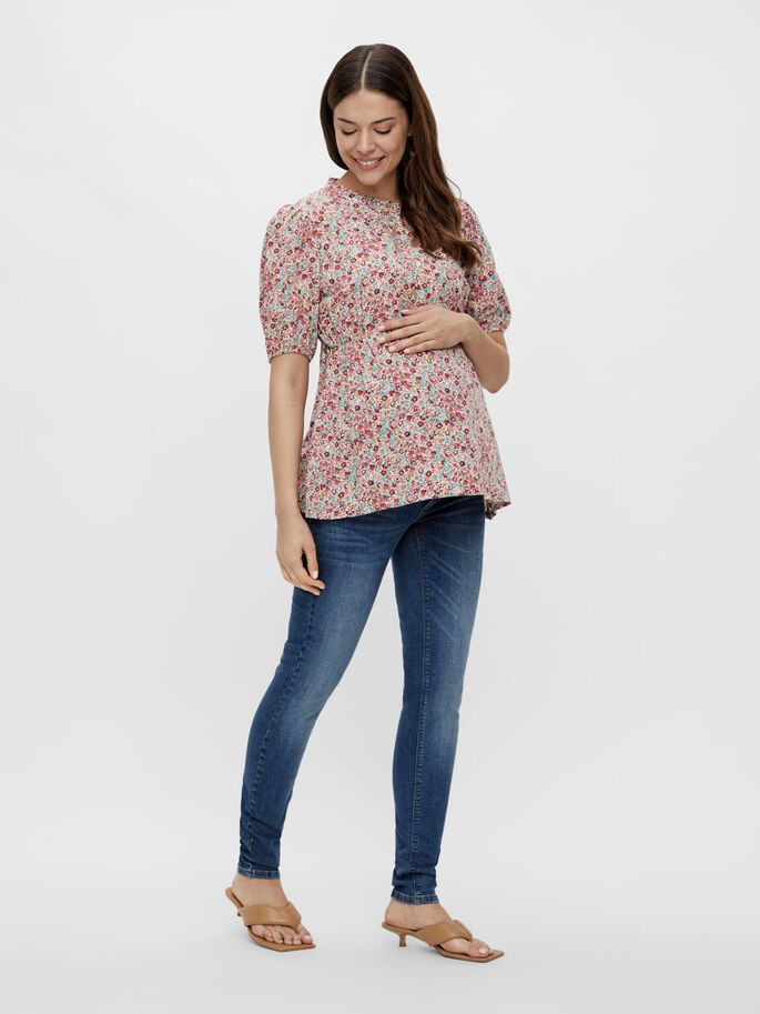 MLBLANCH 2-IN-1 MATERNITY TOP, Snow White, large