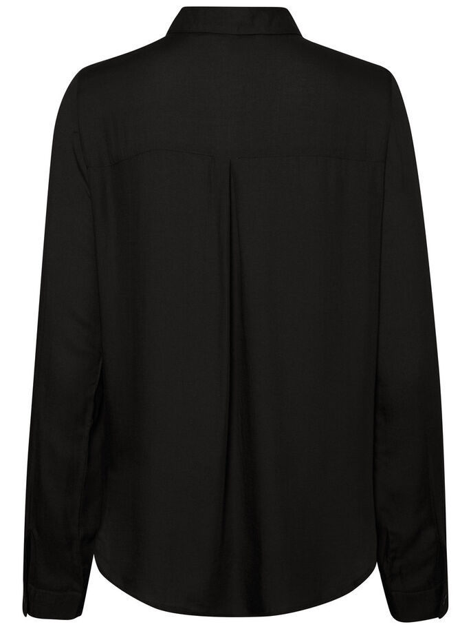CLASSIC LONG SLEEVED SHIRT, Black, large