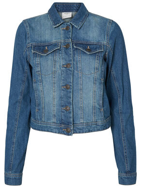 LONG SLEEVED DENIM JACKET