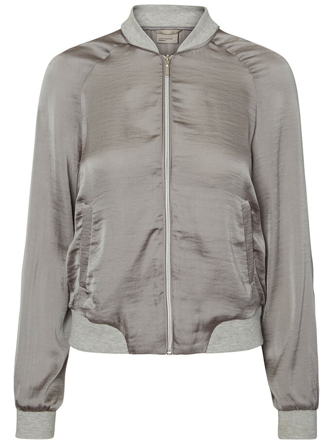 SHORT JACKET, Frost Gray, large
