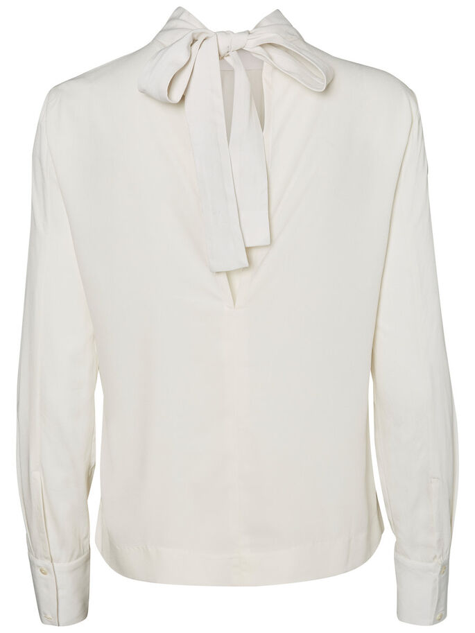 AWARE SHIRT MET LANGE MOUWEN, Eggnog, large