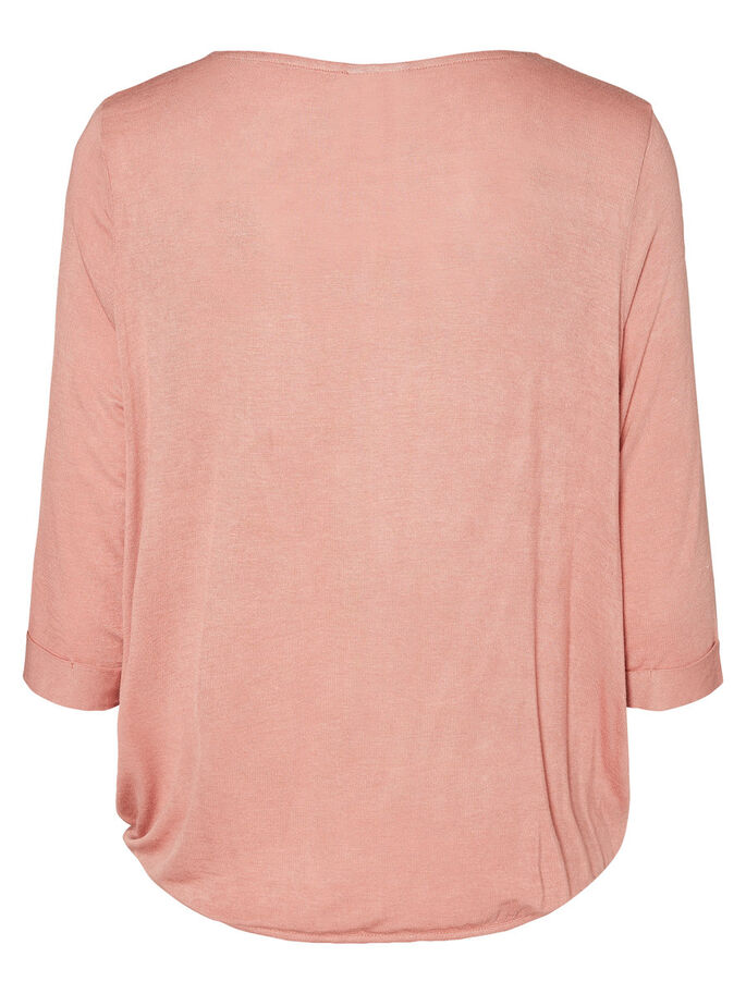 CASUAL BLOUSE MANCHES 3/4, Ash Rose, large
