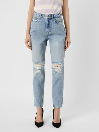 VMJOANNA HIGH WAISTED LOOSE FIT JEANS