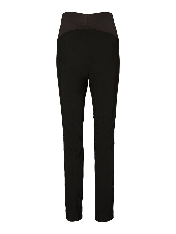 VMMTESSIE MATERNITY TROUSERS, Black, large