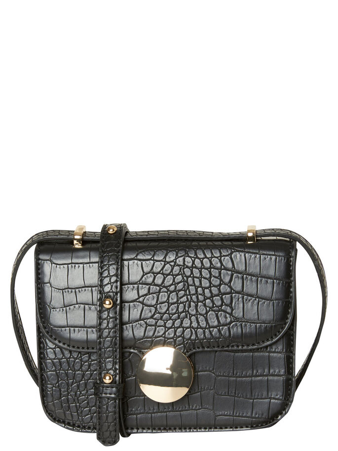 SMALL SHOULDER BAG, Black, large