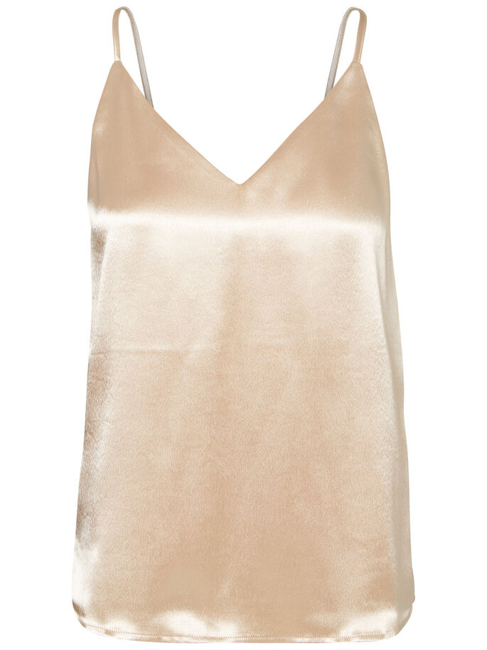 CAMI SINGLET, Ivory Cream, large
